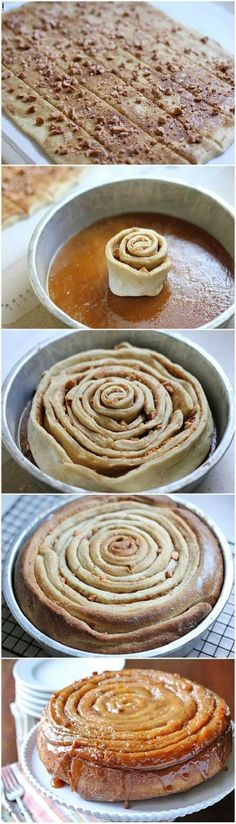 Butterscotch Spiral Coffee Cake | Foodry But without the butterscotch