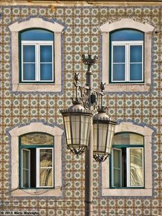 Photography ,Fine art and sometimes History: Photo Portuguese Culture, Portuguese Tiles, Arched Doors, Windows And Doors, Underwater Hotel, Street Lamp, Light Of The World, Most Beautiful Cities, Candle Lanterns
