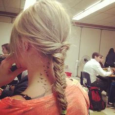 tattoos and fishtail