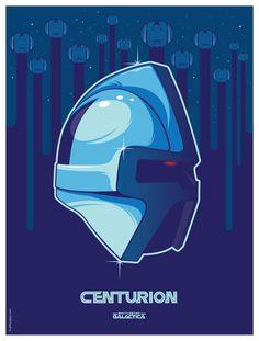 Cylon centurion 1970s Battlestar Galactica