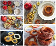 Homemade Delicious Cinnamon Apple Rings
