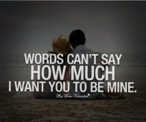 Words Cant Say How Much I Want You To Be Mine Again 3