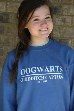 Harry Potter Clothing Hogwarts Quidditch by PerksOfBeingAWeasley, $30.00