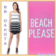 New Arrivals from BB Dakota In Store Now!! This striped dress is Too Good to Pass Up!! Available at Free Shop Stone Harbor and Free Shop Cape May.
