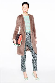 JCrew Fall 2012. Seriously cool color combo.
