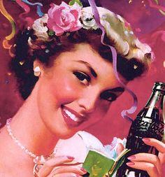 Vintage Coca-Cola #lamistardilocast #coca-cola #sexy #fille #femme #beautée #girl #woman #wanderfull #chica #donna #ragazza