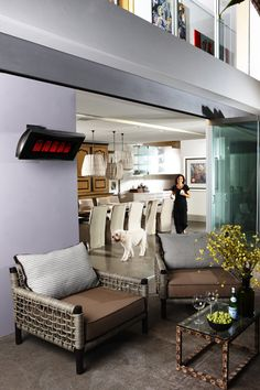 Outdoor Heaters Warm Up Outdoor Kitchens, Balconies And Porches And Are An  Essential Component Of