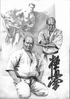 Lagendary Mas Oyama, founder of Kyokoshinkai Karate: 1923 to 1994.