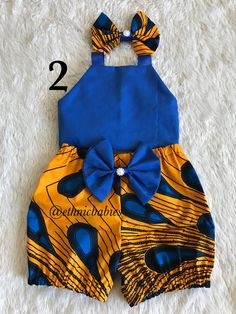 African fabric shorts/ babygirl clothes/baby set/ hair bow/Newborn clothes/African clothing/Ankara s Baby African Clothes, African Dresses For Kids, African Babies, Latest African Fashion Dresses, African Print Fashion, Newborn Girl Outfits, Baby Girl Dresses, Kids Outfits, Cute Kids Fashion