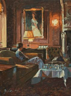 Tea with Nancy Astor / Bruce Yardley Exhibition - March 2012