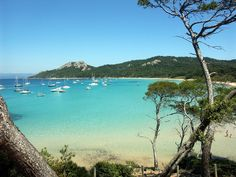 The travel guide for Porquerolles, beautiful island off France's Azure Coast Best Vacation Destinations, Best Vacations, Vacation Spots, Holiday Destinations, Beautiful Islands, Beautiful Beaches, Image Surf, Cannes, Hyeres France