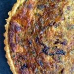 Caramelized Onion and Pancetta Quiche   Cupcakes & Cashmere