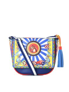 All Things Sundar Multi Color nDigital Print Sling Bag | The House ...