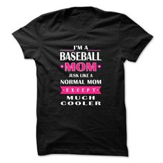 Baseball mom cooler T Shirts, Hoodies. Check price ==► https://www.sunfrog.com/LifeStyle/Baseball-mom-cooler.html?41382