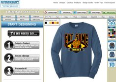 Everyone needs a Thanksgiving shirt!  #thanksgiving #turkey #tshirt #screenprinting #design