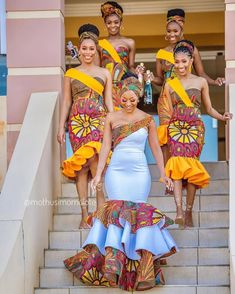 2020 Inspirational African Fashion Styles That Are Classic For Latest Ovation Styles in Vogue African Print Wedding Dress, African Bridesmaid Dresses, African Wedding Attire, African Wear Dresses, Latest African Fashion Dresses, African Attire, Women's Dresses, Ankara Fashion, Modern African Dresses