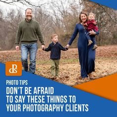 Be sure to say these things to your photography clients so that your session runs much smoother and save yourself editing time later too. Digital Photo Album, Social Media Apps, Family Photo Album, Digital Photography School, You Better Work, School Photos, Great Photographers, Dont Be Afraid, Great Videos