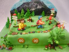 narodeninova torta pre vasnivych turistov