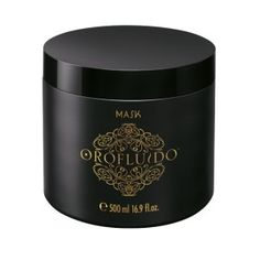 Mascarilla Oro Fluido 500 ml - Un tratamiento a base de tres aceites naturales (argán, lino y cípero) que realza, recupera y potencia la belleza del cabello. Aporta brillo y una ligereza asombrosa. #Mascarilla #Revlon #Cabello