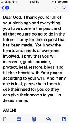 Prayer Scriptures, Bible Prayers, Faith Prayer, God Prayer, Prayer Quotes, Bible Verses Quotes, Faith Quotes, Catholic Prayers, Prayers For Healing