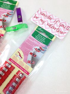 DIY My Crafty Valentines with Clover Wonder Clips @cloverusa