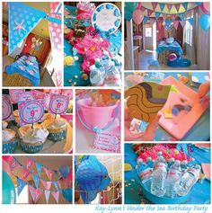 "My little girl's ""Under the Sea"" Birthday Party"