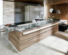 Gamadecor redefine el concepto de la cocina de vanguardia en Cersaie 2013  #Porcelanosa #Gamadecor #Krion #kitchendesign #interiordesign #Cersaie2013 #cocinas #diseño #interiorismo
