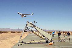 Des drones comme relais de télécommunication