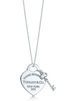 416de1245956 Heart Tag with Key Pendant · Tiffany And Co ...