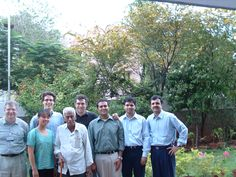 University of Michigan MBA students, me, and Dr. Venkataswamy (Dr. V.) in 2004