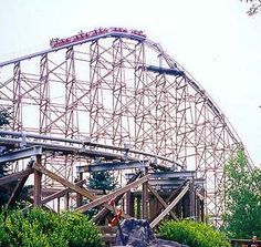 Excalibur - Valleyfair.. when this first came out, we got to ride it without the air brakes on... WILD!!