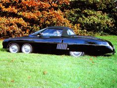 """Panther Six (1977) Looking like something out of """"Thunderbirds,"""" the Panther 6 featured an 8.2-litre twin-turbo Cadillac V8 in the rear, which could supposedly provide a 320 km/h top speed. Only two were built."""