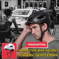 the best urban bicycle helemt that you ever had. it will be the perfect fashion items for your daily working and wild exploring. #cycling #cyclinglife #victgoal #bicyclehelmet Commuter Cycling, Road Cycling, Cycling Helmet, Bicycle Helmet, Aircraft Structure, Cycle To Work, Air Ventilation, Urban Bike, Helping People