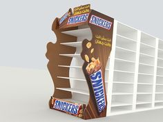 Snickers Displays for supermarkets
