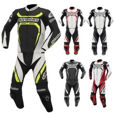 Alpinestars Motegi Leather Two-Piece Street Gear Motorcycle Race Suits Motorcycle Wear, Motorbike Leathers, Racing Motorcycles, Street Bikes, Motorcycle Accessories, Motorbikes, How To Wear, Search, Clothes
