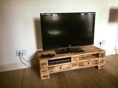 Meuble TV palette – Le recyclage en chaîne