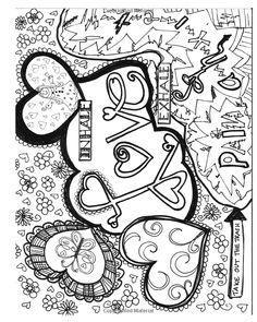 257 Best Color Me Love Images Adult Colouring In Coloring Pages