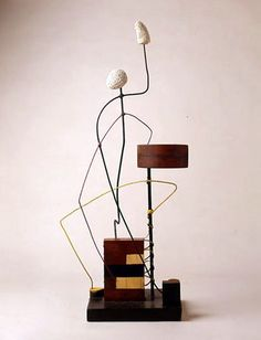 David Roland Smith (March 9, 1906 - May 23, 1965) was an American Abstract Expressionist sculptor and painter, best known for creating large steel abstract geometric sculptures.  h - Construction, 1932.