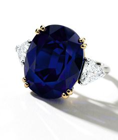 'The Pride of Kashmir'. An Exceptional and Very Rare 20.22-Carat Sapphire and Diamond Ring. Est. HK$ 30 – 45 million / US$ 3.8 – 5.8 million.