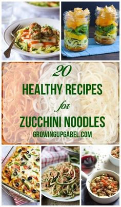 Add more vegetables to your meals with these fun recipes for Zucchini Noodles! From soup to pasta to casseroles, zucchini noodles are aversatile and delicious way to eat more veggies!