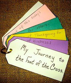 #Easter #eastercrafts #lent Lent journal