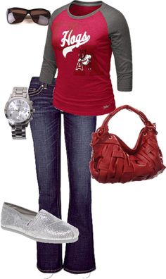 Game Day, created by lisacollins1997 on Polyvore