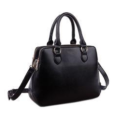 Three-Tier Design Fashion Tote Handbag