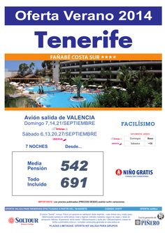Oferta hotel Fañabe Costa Sur salidas desde Valencia ultimo minuto - http://zocotours.com/oferta-hotel-fanabe-costa-sur-salidas-desde-valencia-ultimo-minuto/