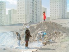 Robin Wright on the photographer Hashem Shakeri's photographs of Iran's housing crisis. Supreme Leader Of Iran, Mass Migration, Real Estate Prices, Sewage System, The New Yorker, Playground, Robin Wright, Towers, Scrubs