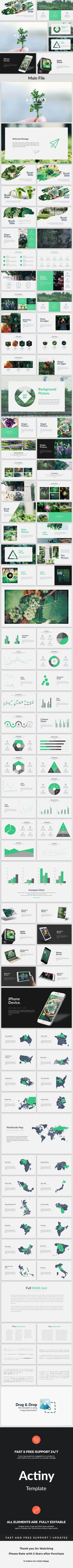Actiny - Creative Powerpoint Template