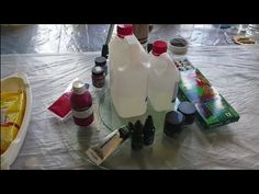 (6) Resin Art info for begginers/ tools and materials - YouTube