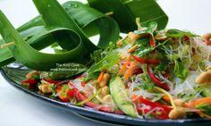 Vietnamese noodle salad.
