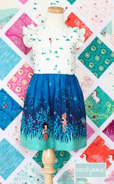 Free Girls Dress Pattern: Wee Wander Dress
