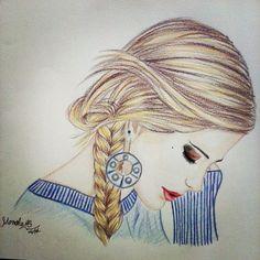 Drawing By Manoela Cardoso